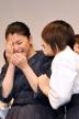 『剣道の稽古で手にも足にも血マメ!成海璃子と北乃きいがW主演作で舞台挨拶』