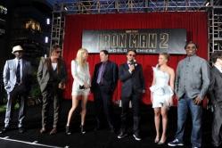 『スカーレット・ヨハンソンはセクシー担当!『アイアンマン2』プレミアにキャスト集結』
