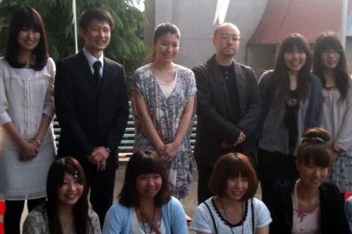 『成海璃子が『書道ガールズ』ロケ地を再訪。絶賛コメントに感無量!』