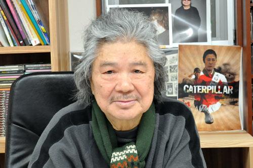 『「米軍基地は東京湾に!」衝撃作『キャタピラー』若松監督が政治家を斬る!』