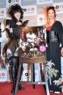 『血糊の量にビックリ! 美尻の女王・秋山莉奈がゴスロリファッションで主演作会見』