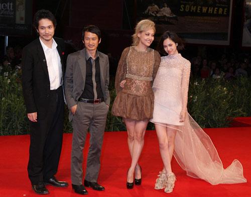『ヴェネチア映画祭で『ノルウェイの森』に拍手の嵐、松山ケンイチは金獅子賞に意欲!』