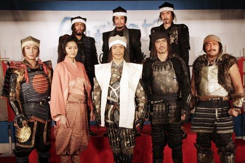 『『のぼうの城』記者会見に、新キャストの上地雄輔、山田孝之らも出席!』