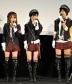 『AKB48の高橋みなみ、渡辺麻友、宮澤佐江が未来の鉄道マンに巨大駅弁を差し入れ!』
