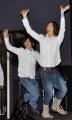 『D2のメンバーがフンドシ一丁でポールダンス。でも、ちょっと恥ずかしかった!?』