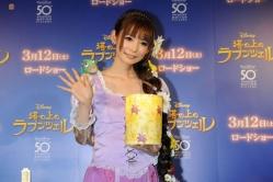 『ディズニーアニメの世界に浸った中川翔子、「ビッグバーンハピネスな日」と夢見心地』