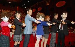 『宮根誠司が『名探偵コナン』舞台挨拶中の地震に冷静な対応、観客の動揺静める』