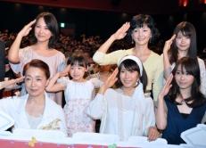 『中谷美紀、『阪急電車』初日舞台挨拶で突然の感涙』
