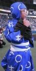 『虎党・加藤清史郎が甲子園に登場! 忍たま姿で始球式行う』