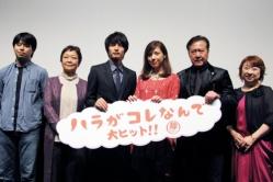 『妊婦役を演じた仲里依紗、公開初日を迎え「産み落とすことができて嬉しい」』