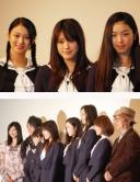 『『櫻の園 ─さくらのその─』キャストが舞台挨拶。高校生制服が着たかった──と無念の菊川怜』
