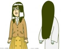 『コラボを繰り返す『貞子3D』、今度はショートアニメ『かよチュー』とコラボ!』
