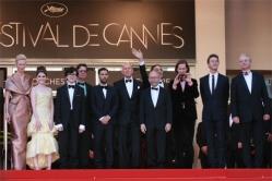 『カンヌ映画祭が開幕! ブルース・ウィルスらが『ムーンライズ・キングダム』で会見』