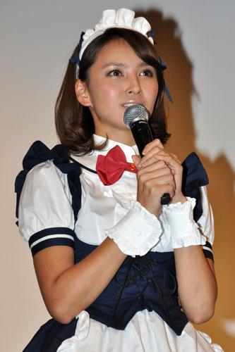 メイドが可愛すぎる加藤夏希