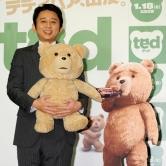 『ハリウッド映画『テッド』で声優初挑戦の有吉弘行が毒舌アフレコ会見!』