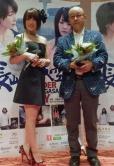 『上海映画祭出席の北乃きい、中国語で挨拶し客席を沸かせる/『爆心長崎の空』』