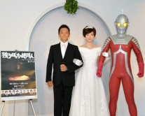 『AKB48田名部生来のウェディングドレス姿に、父役を演じた風見しんご感極まる』