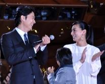 『福山雅治と夫婦役演じた尾野真千子、福山ファン公言し、緊張のあまり声上ずらせる』