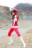 『女優でキャスターもつとめる桐谷美玲が戦隊モノのセンター、レッド役に挑戦!』