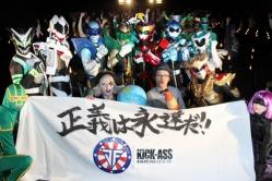 『ご当地ヒーローたちがスーパーヒーロー軍団を結成!/『キック・アス』ヒーローサミット』