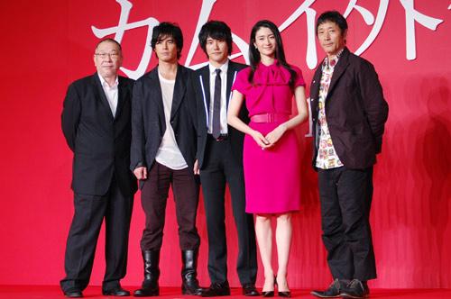 『松山ケンイチと小雪が初共演作の会見に出席。互いの第一印象は?』