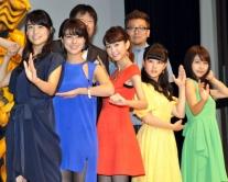 『桐谷美玲ら美女5人が舞台挨拶。福田監督「女子5人の独特のぬるさ加減を楽しんで」』