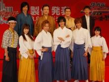 『日本映画初の3Dは、格さん3人がそろい踏みの『シンケンジャー』』