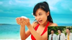 『赤いビキニ姿の小島瑠璃子の一挙手一投足に、思春期男子が大興奮!』