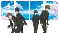 『前編/男の子たちの青春と水しぶきがまぶしい人気アニメ劇場版『ハイ☆スピード』』