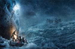 『真っ二つに割れ沈没する巨大タンカーを小舟で救えるか? 迫力映像が解禁!』