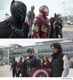 『アイアンマンとキャプテン・アメリカ、応援したいのはどっち?』