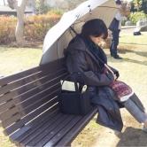 『波瑠の居眠り姿に「めっちゃ可愛い」とファンメロメロ!』