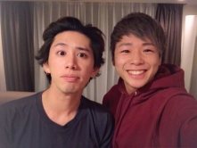 『K-1ファイター武尊と「ONE OK ROCK」Takaの2ショットにファン歓喜!』