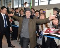 『ルーク・スカイウォーカー役のマーク・ハミルが来日! 400人が熱烈歓迎』