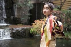 『哀川翔の次女で新成人の福地桃子が晴れ着姿で今年の抱負語る』