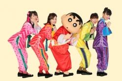 『4人体制の新生ももクロが『クレヨンしんちゃん』主題歌&ゲスト声優に!』