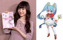 『神田沙也加、実写映画『3D彼女』に魔法少女のアニメキャラ声優で出演!』