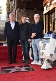 『マーク・ハミルのハリウッド殿堂入りをルーカス、フォードも祝福!』