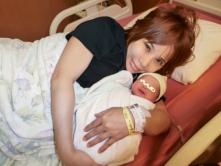 『浜田ブリトニーが女児出産!高齢出産も母子ともに健康ですと報告』