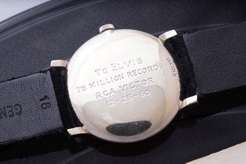 『エルヴィス・プレスリーのオメガの時計、過去最高の1.6億円で落札』