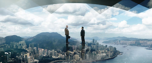 『ロック様が家族を救うため高さ1kmの超高層ビルで大暴れ!『スカイスクレイパー』予告編解禁』