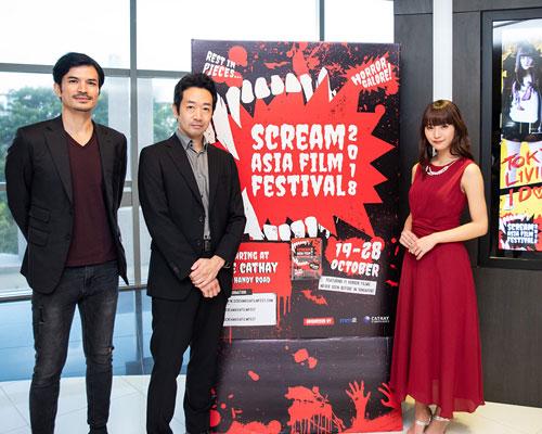 『スパガ浅川梨奈が海外進出!シンガポールで主演映画の舞台挨拶に登壇』