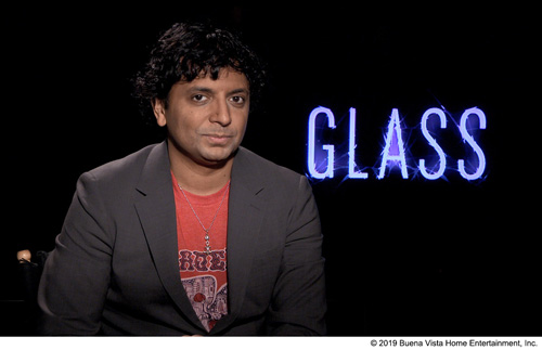 『シャマラン監督「『ミスター・ガラス』は最初は3時間20分だった」』