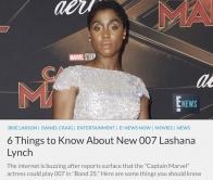 『史上初の女性「007」が登場!? ジャマイカにルーツの英国女優』