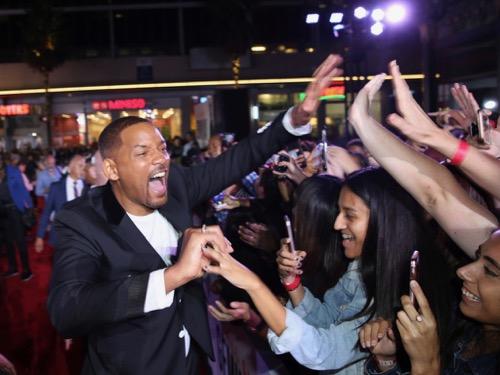 『ウィル・スミスの登場に1000人のファンが大熱狂!『ジェミニマン』L.A.プレミア』