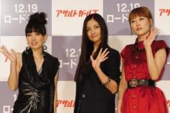 『押井守監督のバトルアクションで黒木メイサ、菊地凛子らが美の競演』