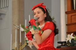 『早くもクリスマスムード全開!こども店長と美少女アヤカがDVDイベント』